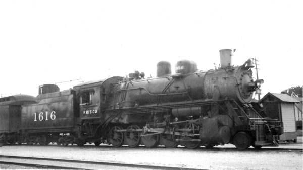 2-10-0 1616 at Enid, Oklahoma on October 15, 1946 (Arthur B. Johnson)
