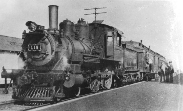4-4-0 115 (date and location unknown)