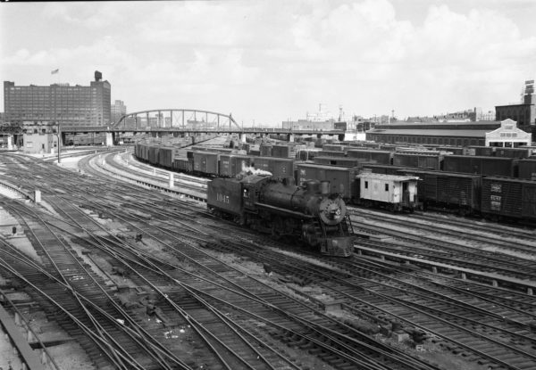 4-6-2 1045 at St. Louis, Missouri (date unknown) (Louis A. Marre)