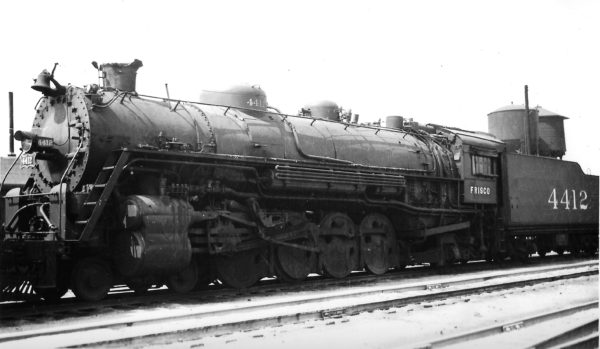 4-8-2 4412 at Springfield, Missouri on June 19, 1947 (Arthur B. Johnson)