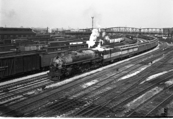 4-8-4 4501 at St. Louis, Missouri (date unknown) (Louis A. Marre)