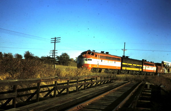 F7A 33 Northbound at the south end of Madill, OK (date unknown)