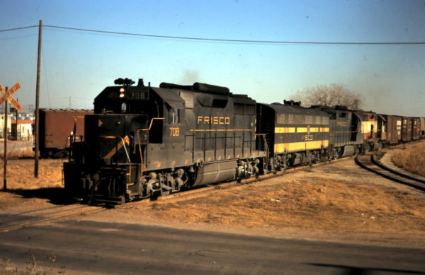 GP35 708 at Oklahoma City, OK (date unknown)