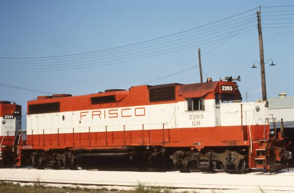 GP38-2 2265 (Frisco 410) (date and location unknown)