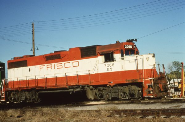 GP38-2 2266 (Frisco 411) (date and location unknown)