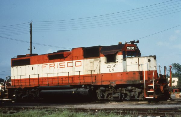 GP38-2 2280 (Frisco 425) (date and location unknown)