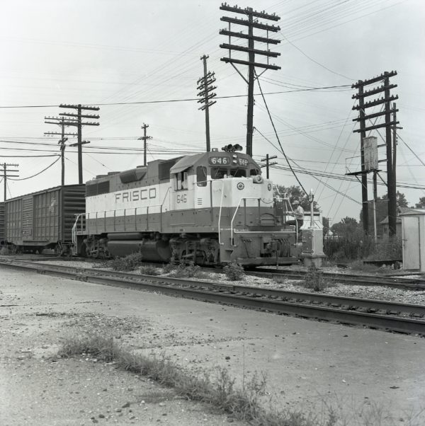 GP38AC 646 at Hoxie, Arkansas on August 7, 1971