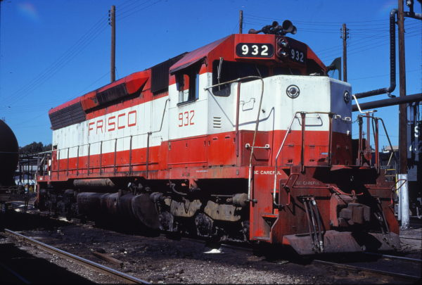 SD45 932 at Atlanta, Georgia on October 7, 1979 (Bill Folsom)