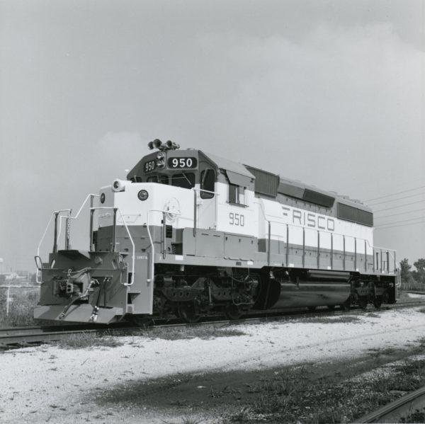 SD40-2 950 at LaGrange, Illinois on July 21, 1978 (EMD Photo)