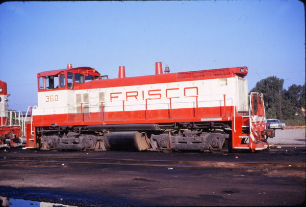 SW1500 360 at Tulsa, Oklahoma on August 19, 1973 (Phillip Faudi)
