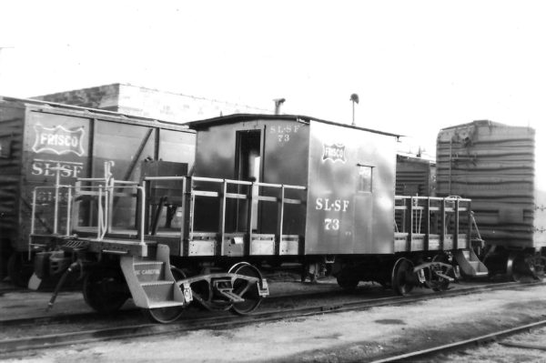 Transfer Caboose 73 (date and location unknown)