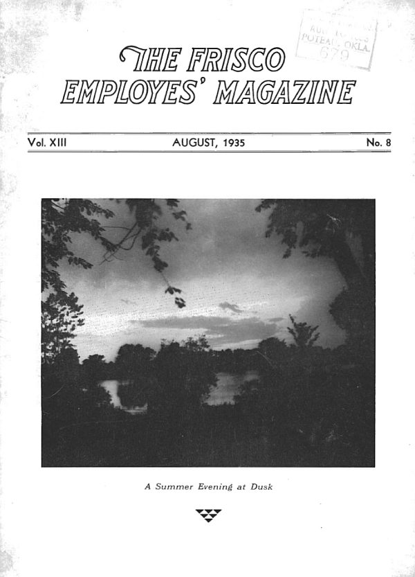 Frisco Employes' Magazine – August 1935
