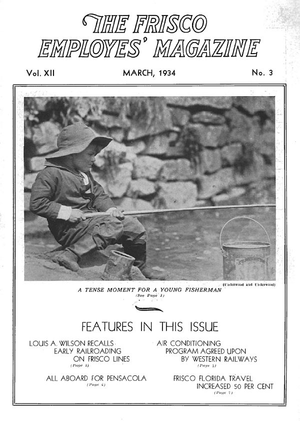Frisco Employes' Magazine – March 1934