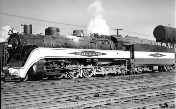 4-6-4 1066 at Lindenwood Yard, St. Louis, Missouri on September 17, 1937 (Louis A. Marre)