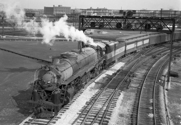 4-8-4 4501 (date and location unknown) (Louis A. Marre)