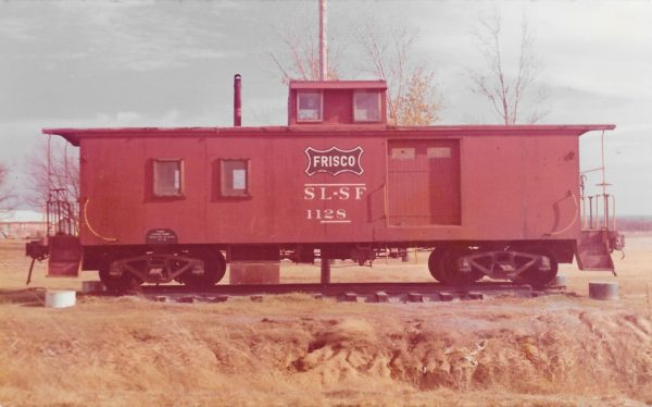 Caboose 1128 (date and location unknown)
