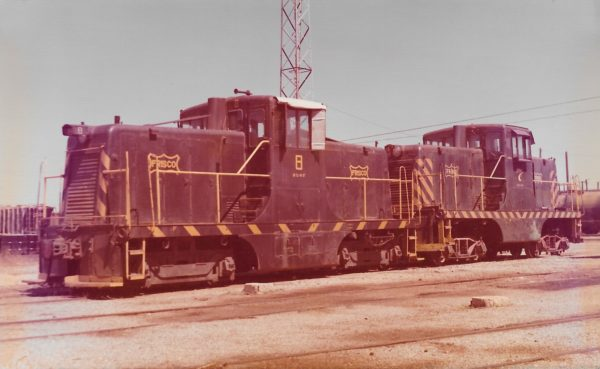 GE 44-Ton Units 8 and 7 (date and location unknown)