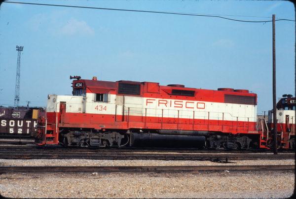 GP38-2 434 at Tulsa, Oklahoma on July 4, 1976 (Mel Lawrence)