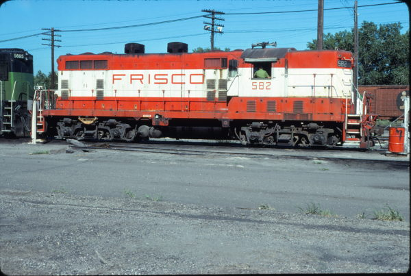 GP7 582 at Omaha, Nebraska on August 7, 1979 (Jerry Bosanek)