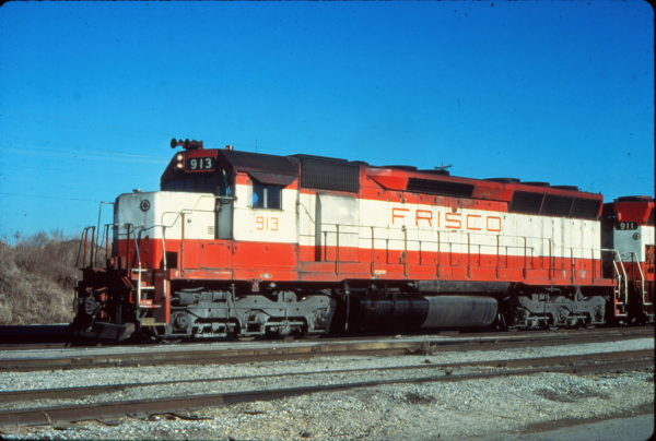 SD45 913 at Memphis, Tennessee in December 1979 (Vernon Ryder)