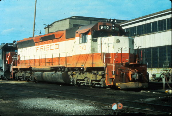 SD45 940 at Portsmouth, Virginia in June 1977 (Vernon Ryder)