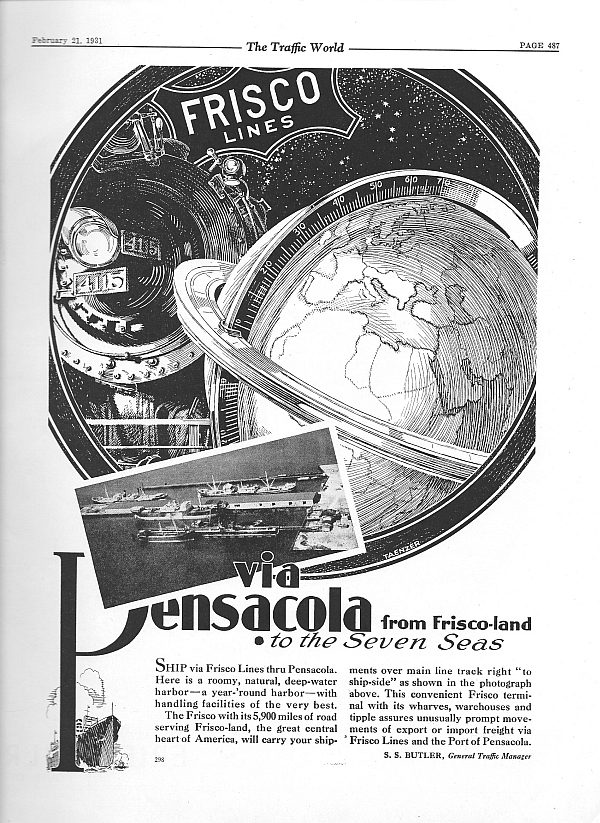 The Traffic World - February 21, 1931