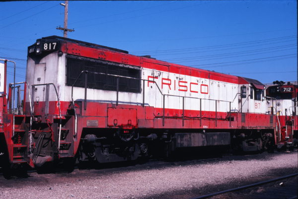 U25B 817 at Springfield, Missouri on September 18, 1978
