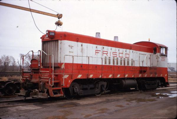 VO-1000m 206 at Wichita, Kansas on January 20, 1973 (Allan Ramsey)