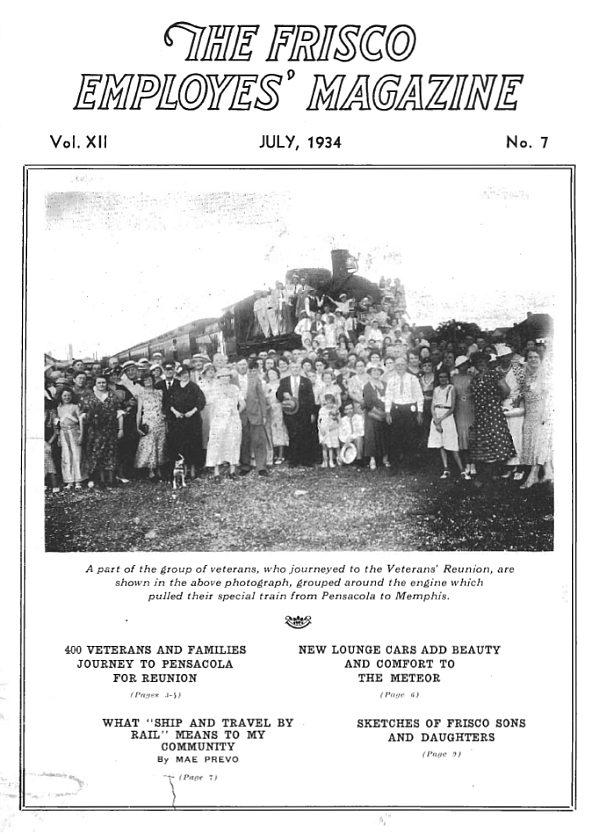 Frisco Employes' Magazine – July 1934