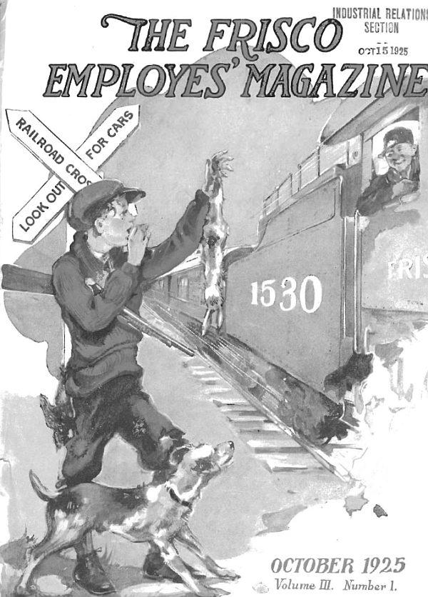 Frisco Employes' Magazine – October 1925