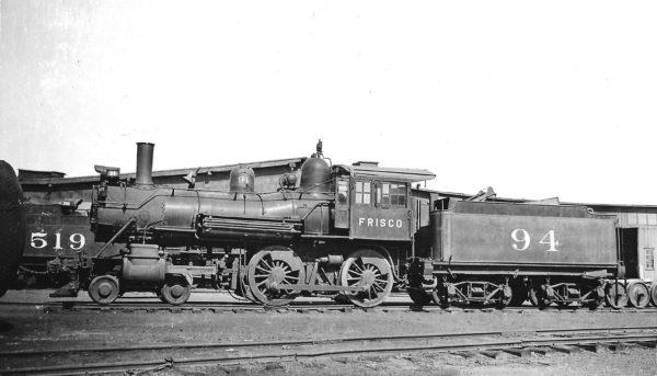 4-4-0 94 at Neodesha, Kansas on September 8, 1934 (Arthur B. Johnson)