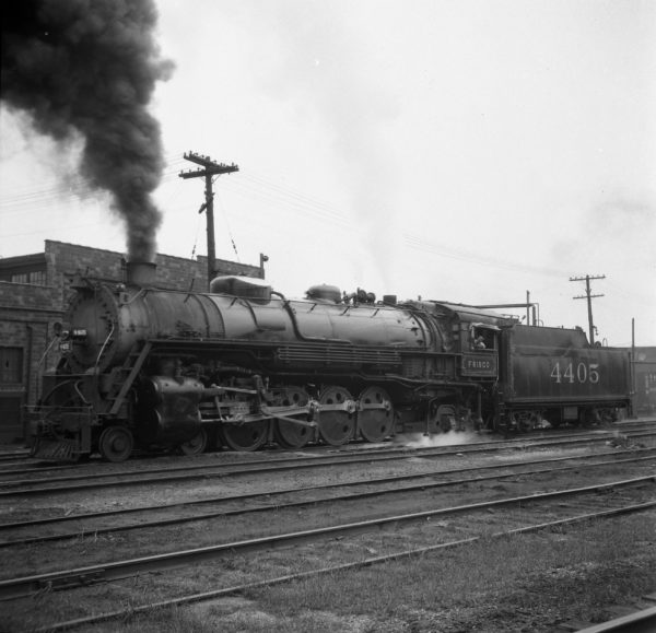 4-8-2 4405 at Lindenwood Yard, St. Louis, Missouri (date unknown)