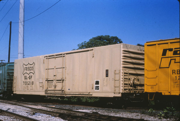 Boxcar 700218 (location unknown) in July 1978 (William Nixon)