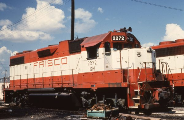 GP38-2 2272 (Frisco 417) (date and location unknown)