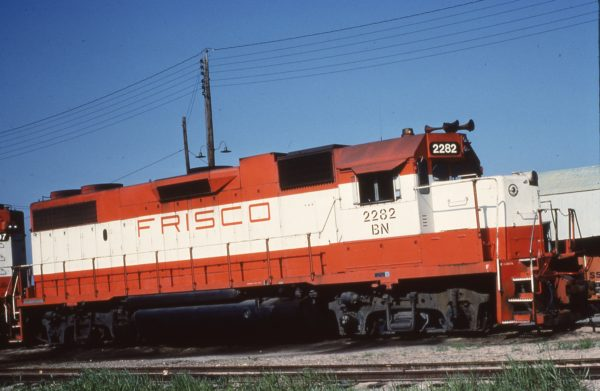 GP38-2 2282 (Frisco 427) (date and location unknown)