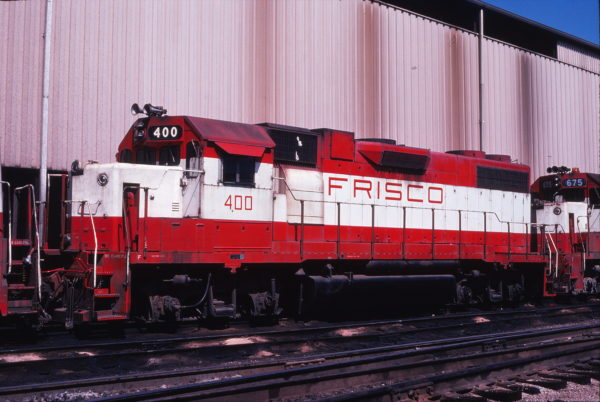 GP38-2 400 at Springfield, Missouri in September 1978