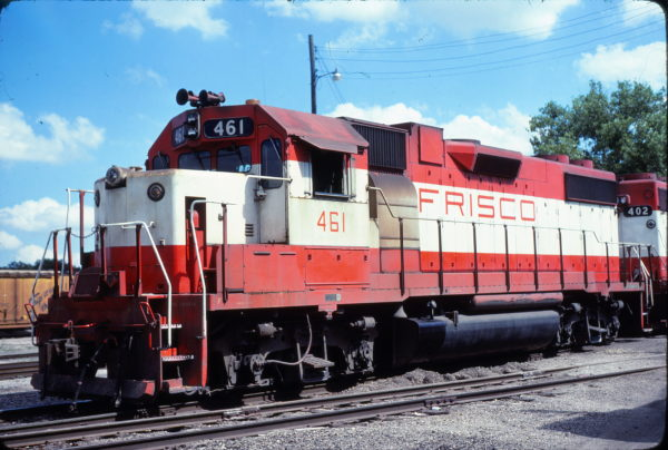 GP38-2 461 at Fort Worth, Texas on May 18, 1980 (Bill Phillips)