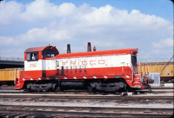 NW2 256 at Tulsa, Oklahoma on June 21, 1980 (J. Harlen Wilson)