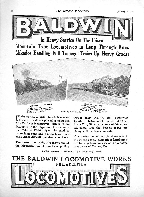 Railway Review - January 5, 1924