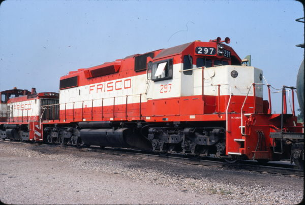 SD38-2 297 (location unknown) in July 1980