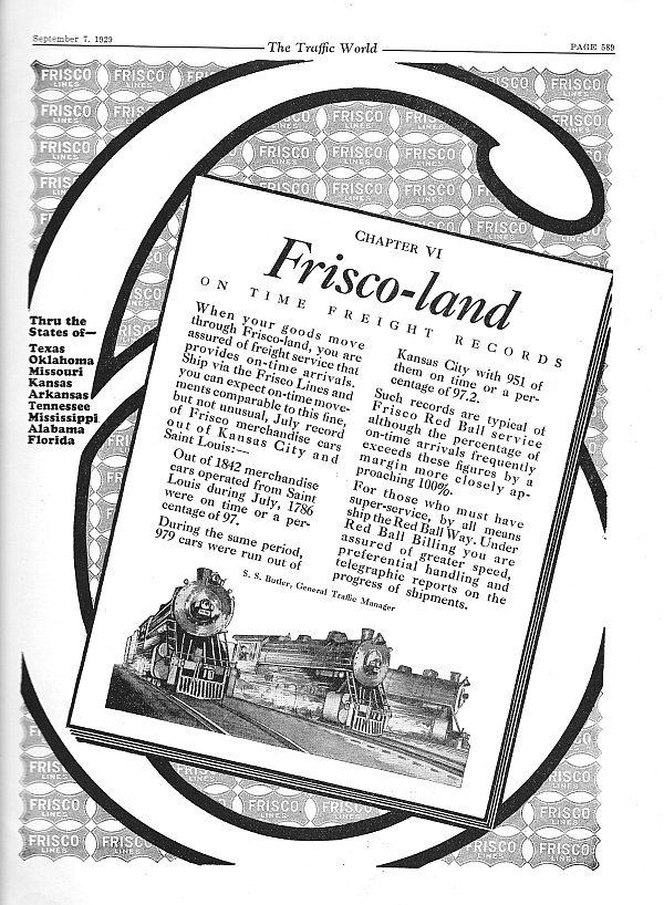 The Traffic World - September 7, 1929