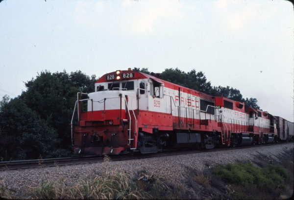 U25B 828 (location unknown) in July 1980