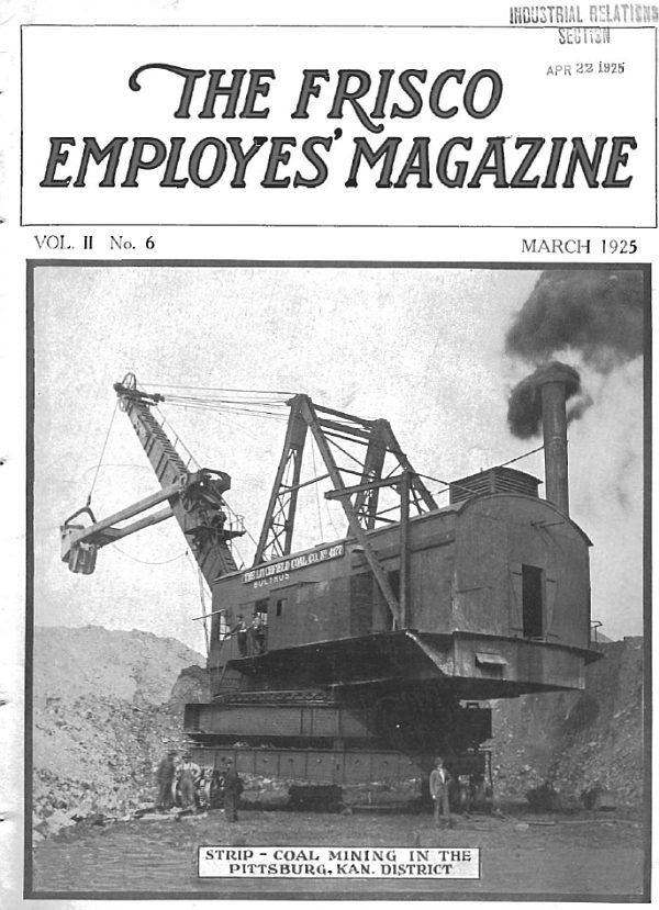 Frisco Employes' Magazine – March 1925