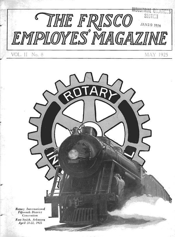 Frisco Employes' Magazine – May 1925