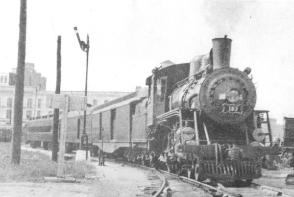 4-4-0 183 at Springfield, MO. (date unknown)