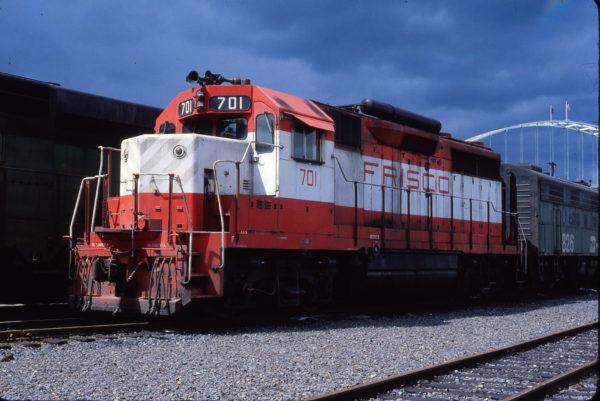 GP35 701 at Portland, Oregon on May 6, 1979 (John L. Brown)