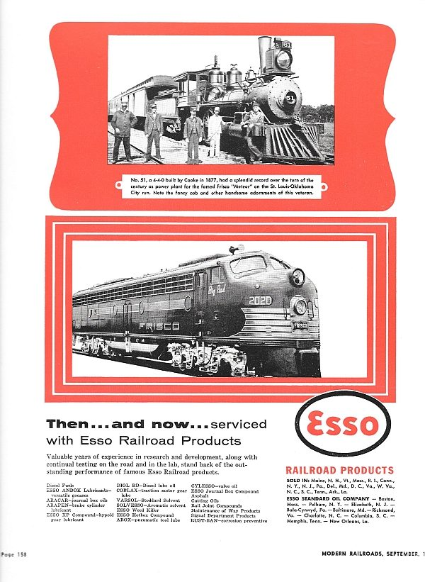 Modern Railroads - September 1955