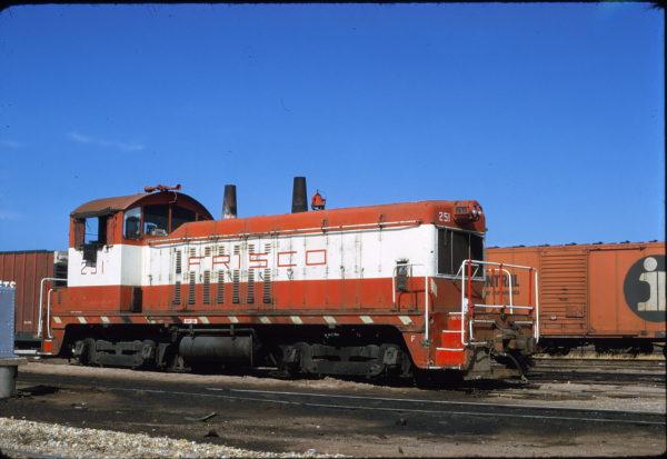 NW2 251 at Tulsa, Oklahoma in June 1974 (Mac Owen)