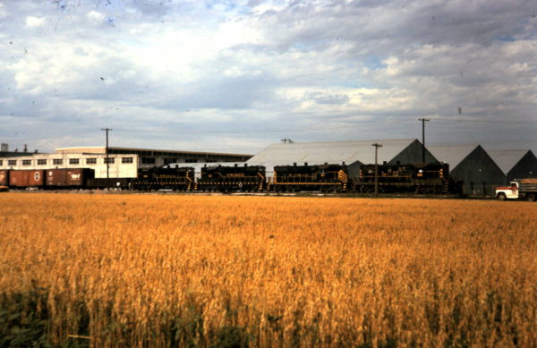 Quartet of GP7s (date and location unknown)