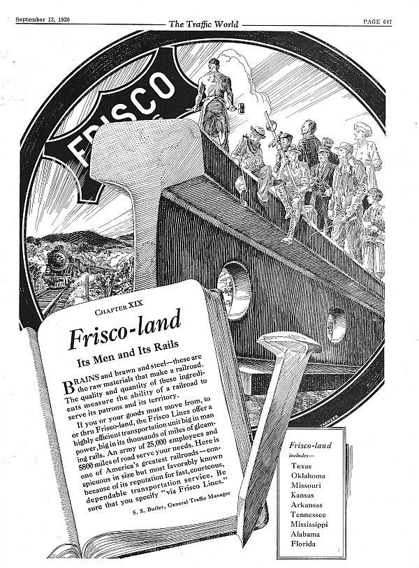 The Traffic World - September 13, 1930